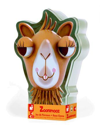 Janod Spiel Zoonimooz Kamel Spielzeug Würfelspiel Kinder Metallbox 02810 – Bild 2