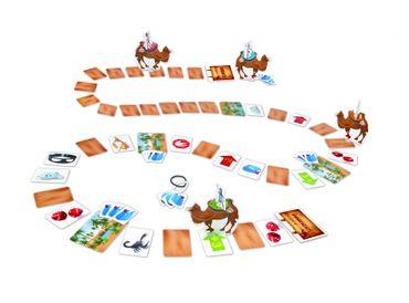 Janod Spiel Zoonimooz Kamel Spielzeug Würfelspiel Kinder Metallbox 02810 – Bild 3
