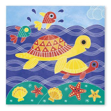 Janod Kreativ-Koffer Motiv-Karten Unter Wasser Malset Kinder Kreativität 07763 – Bild 7
