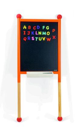 Janod Wandtafel Lehntafel magnetisch doppelseitig mit Zubehör Holz 09615 – Bild 1