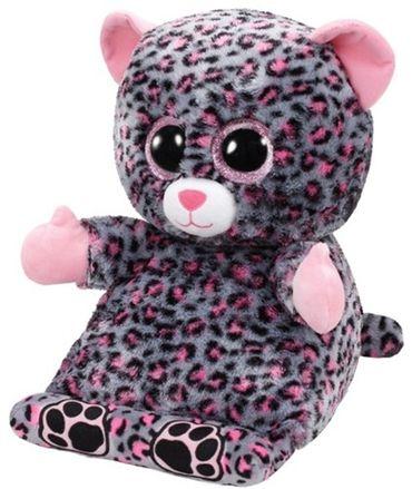 Ty Peek-A-Boos Glubschi Tablet Halter Leopard Trixi 32cm Plüschtier 60002