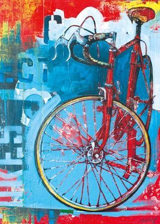 Heye Red Limited Standard Puzzle 1000 Teile Bike Art Fahrrad 29600 – Bild 2