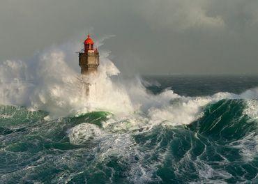 Heye Lighthouse La Jument Standard 1000 Teile Puzzle Humboldt Leuchtturm 29670 – Bild 2