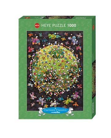Heye Football Standard Puzzle 1000 Teile Cartoon Classics Fußball 29359 – Bild 1
