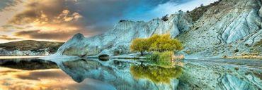 Heye Blue Lake Panorama 1000 Teile Puzzle Humboldt See in Neuseeland 29715 – Bild 2