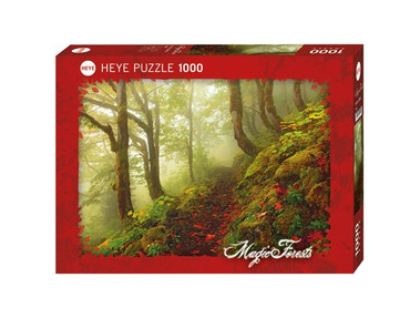 Heye Path Standard Puzzle 1000 Teile Magic Forests Waldpfad im Nebel 29519 – Bild 1