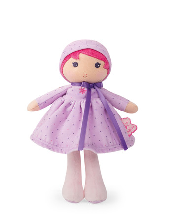Kaloo Tendresse Schmusepuppe Lise 25cm aus Stoff für Babys in edler Box K962079 – Bild 1
