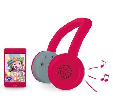 Corolle Ma Kopfhörer und Mobiltelefon für Puppe Puppenzubehör Spielzeug DRN56 – Bild 2