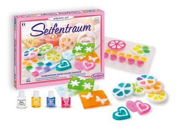 SENTOSPHERE Kreativ-Kit Seifentraum Seifengießen Bastelset Kinder mit Duft 02260