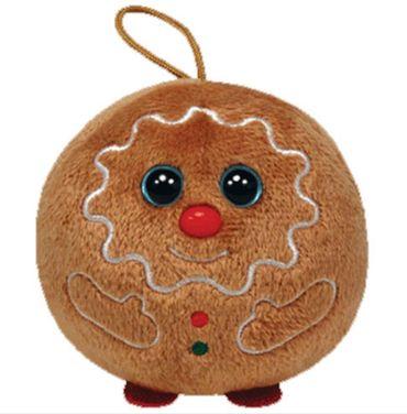 Ty Glubschi Lebkuchen Sweets Plüsch 8cm Schlüsselanhänger Weihnachten 35192