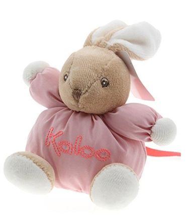 Kaloo Folies Mini Kuscheltier Hase Plüsch kuschelweiches Stofftier 960049-rosa