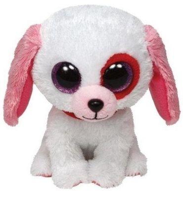 Ty Beanie Boo`s Glubschi Hund Darlin 15 cm Kuscheltier für Valentinstag 36102