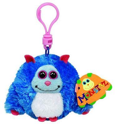 Ty Beanie Monstaz Jerry Monster Schlüsselanhänger 8,5cm Plüsch Clip 37307
