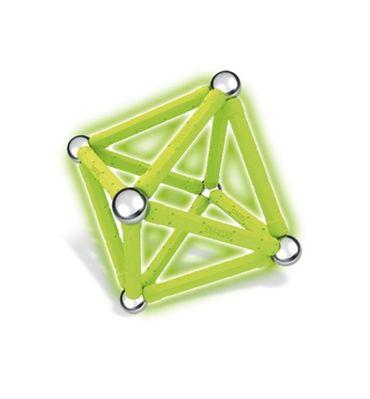 Geomag Color Glow Baukasten 30 Teile nachleuchtende magnetische Bausteine 00335 – Bild 7