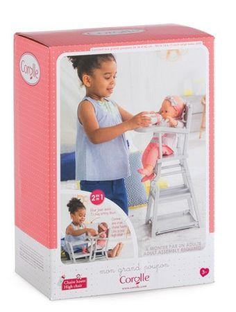 Corolle Hochstuhl für 36 bis 42cm Puppen klappbar zum Tisch mit Stuhl FRV07 – Bild 2
