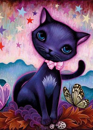 Heye Black Kitty Standard Puzzle Jeremiah Ketner 1000 Teile schwarze Katze 29687 – Bild 2