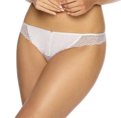 VIANIA String-Tanga Leni 204060 mit seitlicher Spitze Farbe Weiß