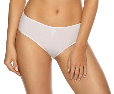 VIANIA Bikinislip 211200 Betty niedrig Farbe Weiß