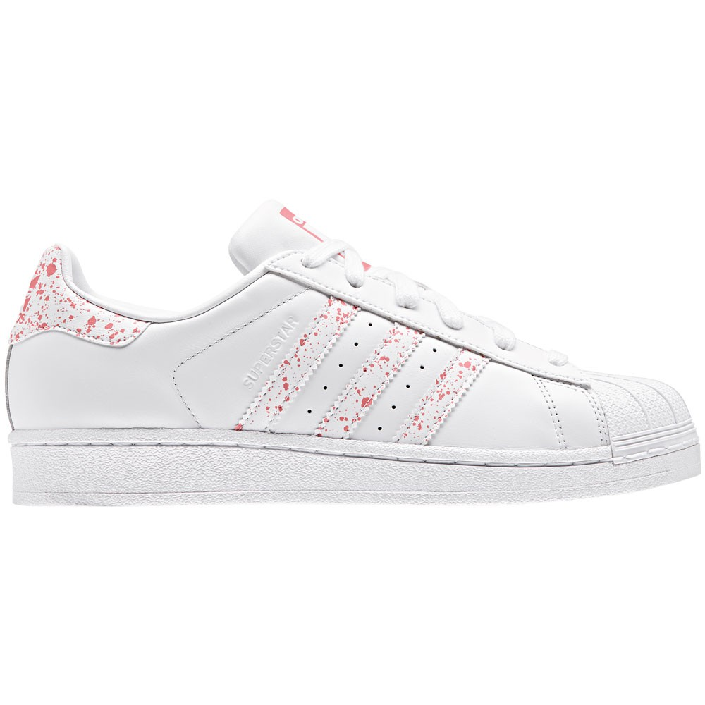 photos officielles e9399 f0b66 adidas Originals Superstar W Sneaker weiß rosa
