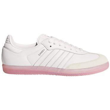 adidas Samba W Sneaker weiß rosa BY9240 – Bild 1