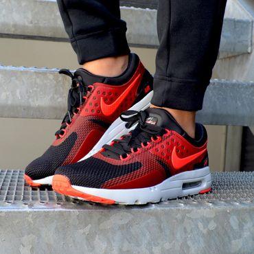 Nike Air Max Zero Essential schwarz rot 876070 007 – Bild 2