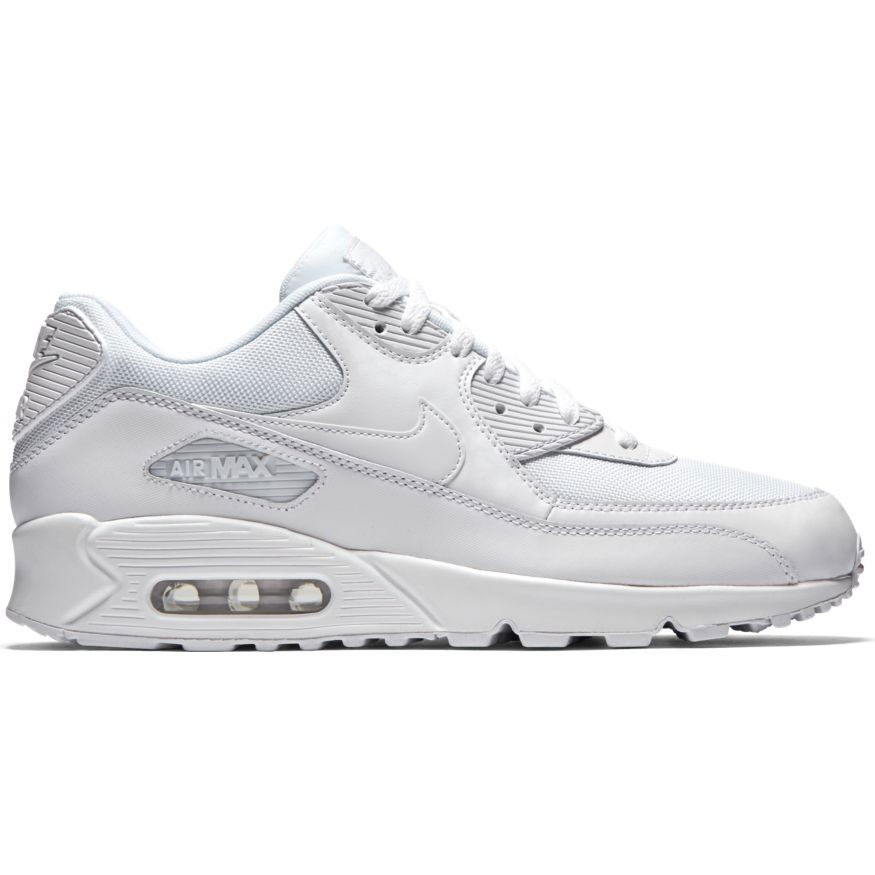 Nike Air Max 90 Essential, Herren Sneakers, Weiß (White