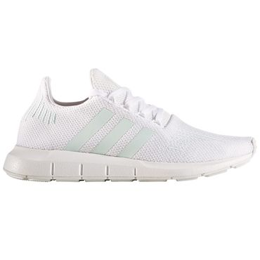 adidas Swift Run W Damen Sneaker weiß mint – Bild 1