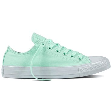 Converse All Star OX Chuck Taylor Chucks mint weiß