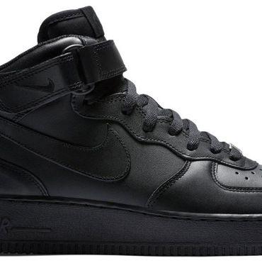 Nike Air Force 1 Mid '07 black 315123 001 – Bild 2