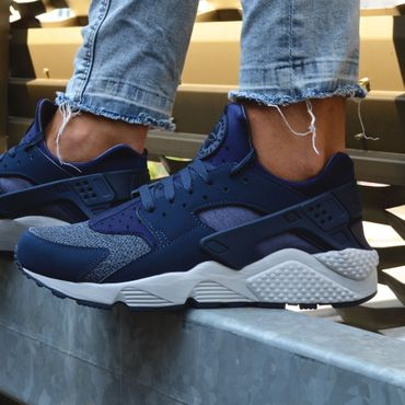 Nike Air Huarache thunder blue 318429 416 – Bild 5