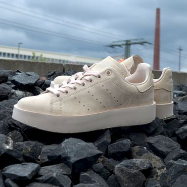 adidas Originals Stan Smith Bold W Damen Sneaker beige – Bild 2