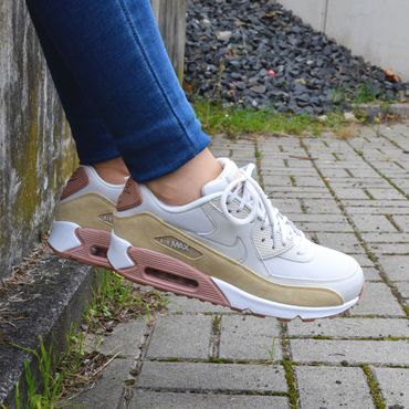 Nike WMNS Air Max 90 light bone 325213 046 – Bild 7