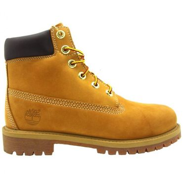 Timberland 6 Inch Premium Youth Kinder Boot wheat – Bild 1
