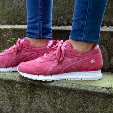 Asics Gel-Movimentum Damen Sneaker pink weiß – Bild 2