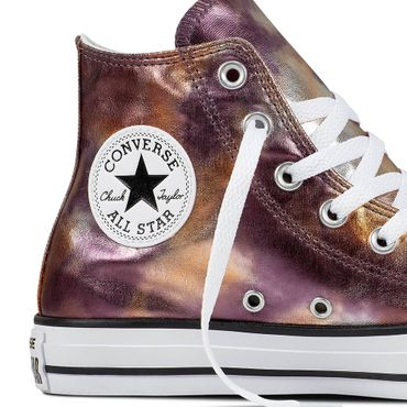 Converse All Star Hi Chuck Taylor Chucks dusk pink metallic – Bild 2