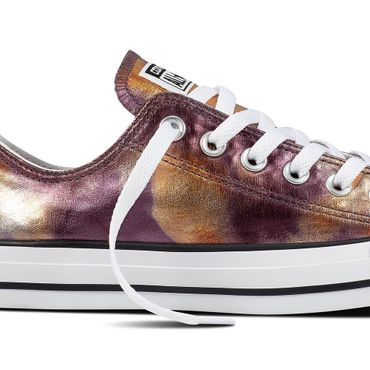 Converse All Star OX Chuck Taylor Chucks dusk pink metallic – Bild 2