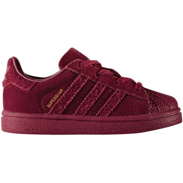 adidas Superstar I Sneaker Kinder Baby collegiate burgundy