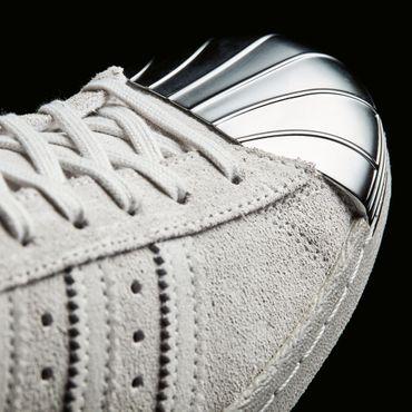 adidas Superstar 80s Metal Toe Sneaker grau silber – Bild 5