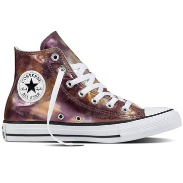 Converse All Star Hi Chuck Taylor Chucks Kinder dusk pink metallic – Bild 1