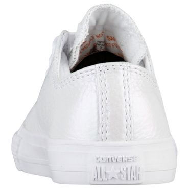 Converse All Star OX Chuck Taylor Chucks Baby Kinder weiß metallic – Bild 3