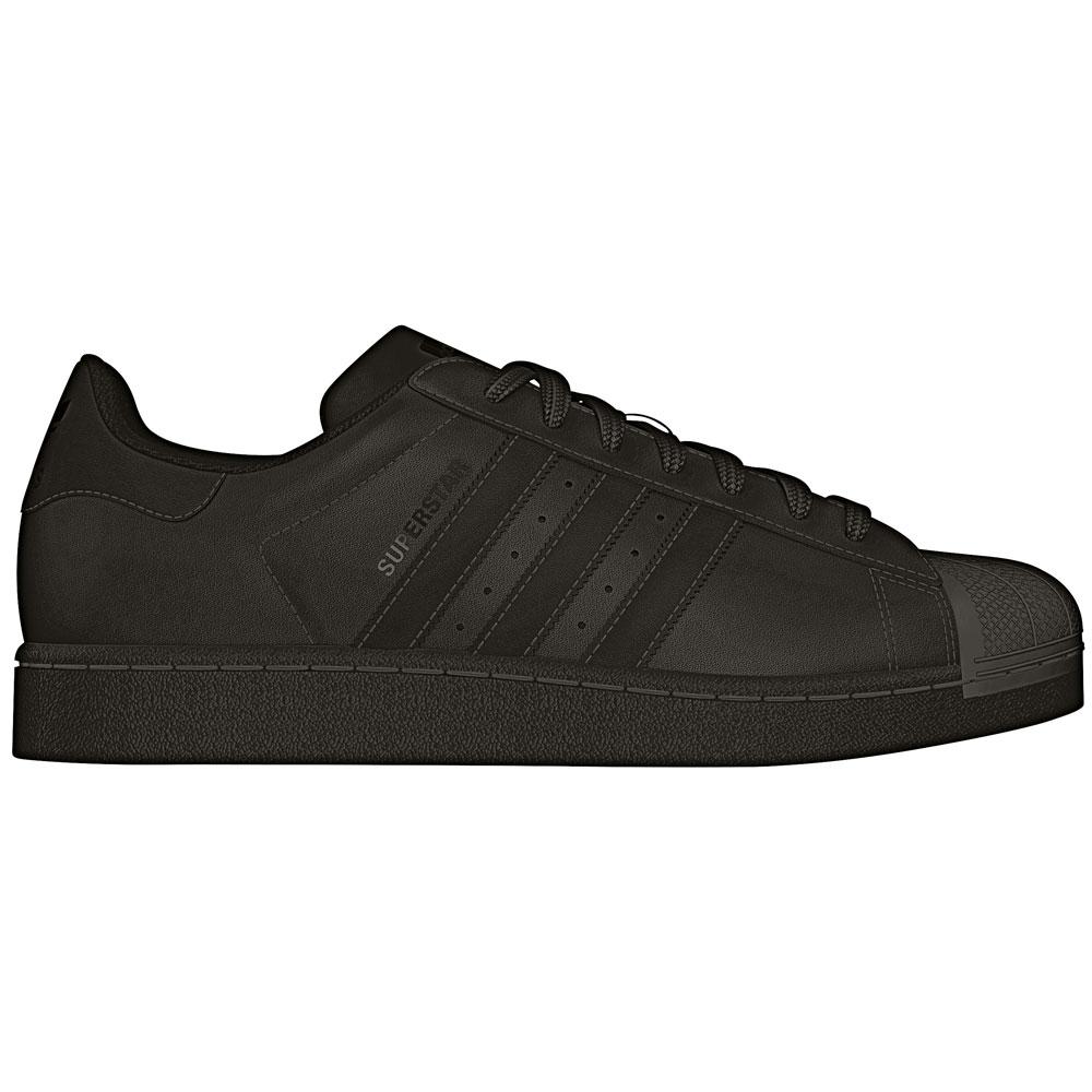adidas Superstar Sneaker schwarz AF5666