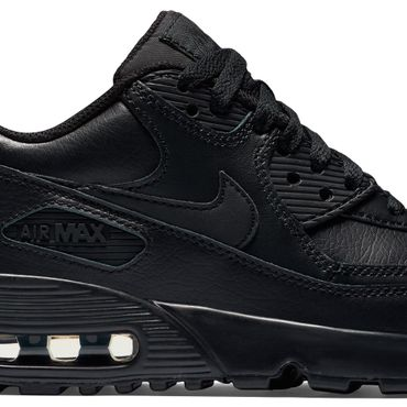Nike Air Max 90 Leather GS schwarz 833412 001 – Bild 2