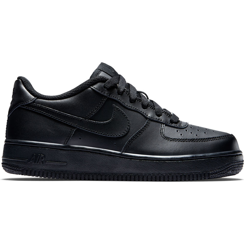 the latest ca658 78aff Nike Air Force 1 (GS) Sneaker schwarz