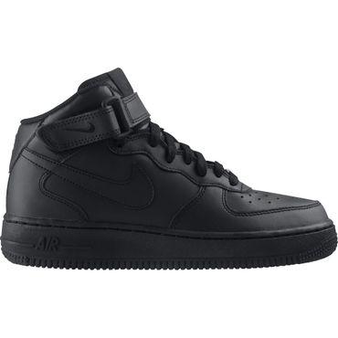 Nike Air Force 1 Mid (GS) schwarz 314195 004 – Bild 1