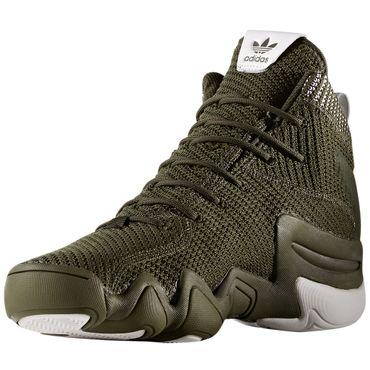 adidas Originals Crazy 8 ADV PK Primeknit Sneaker oliv – Bild 3