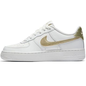 Nike Air Force 1 '06 Sneaker weiß gold – Bild 2