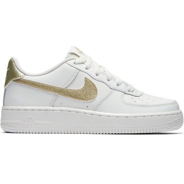 Nike Air Force 1 '06 Sneaker weiß gold – Bild 1