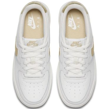 Nike Air Force 1 '06 Sneaker weiß gold – Bild 4