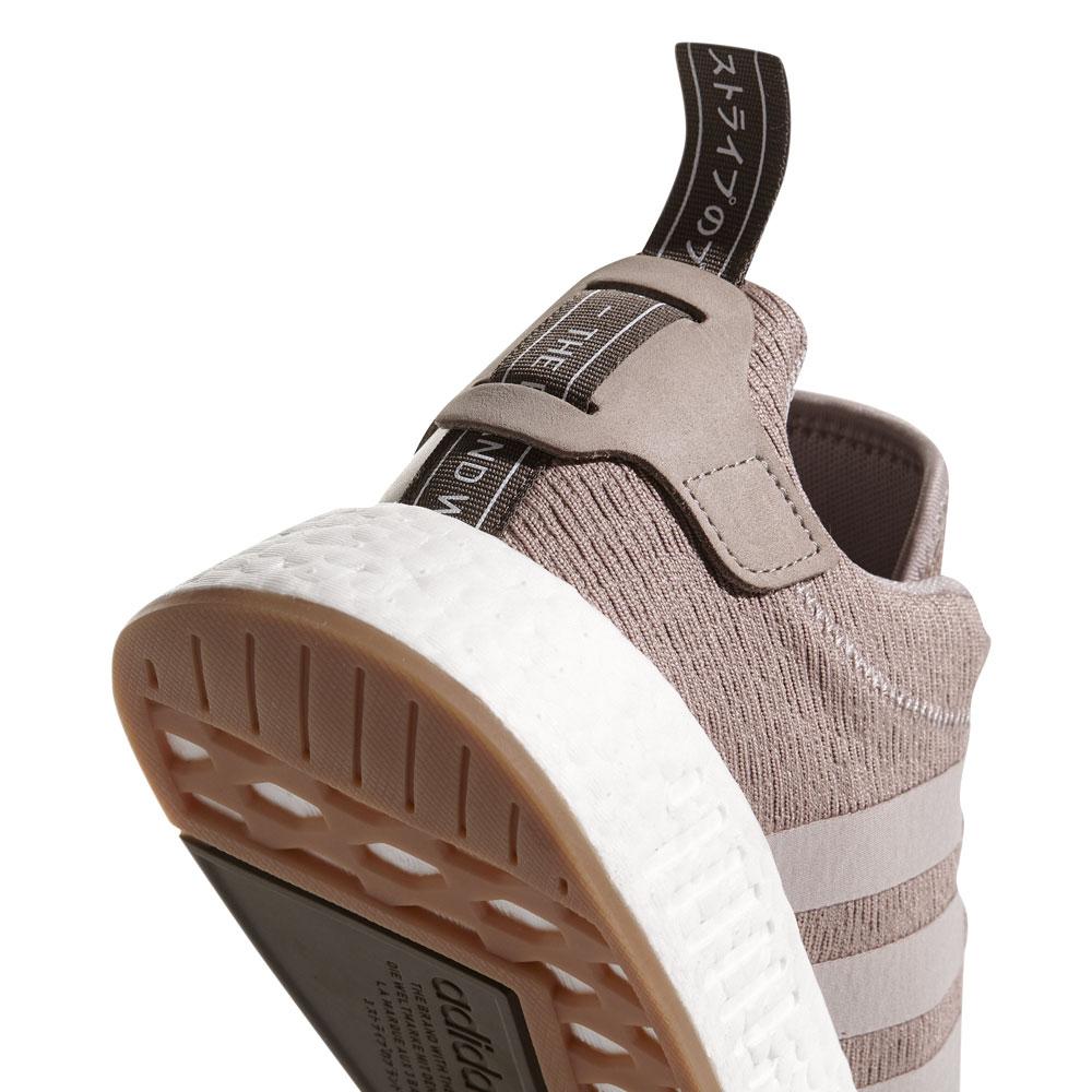 adidas originals nmd r2 herren sneaker hellbraun wei. Black Bedroom Furniture Sets. Home Design Ideas