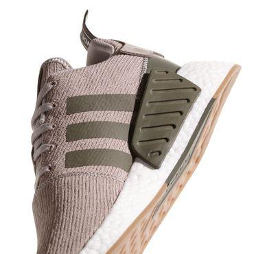 adidas Originals NMD_R2 Herren Sneaker hellbraun weiß – Bild 4